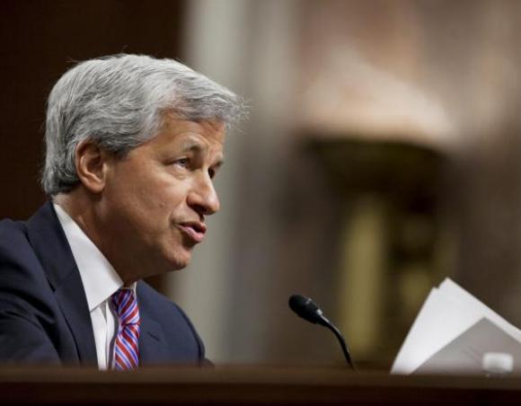 Jamie Dimon, del grupo bancario JPMorgan Chase. Foto: EFE