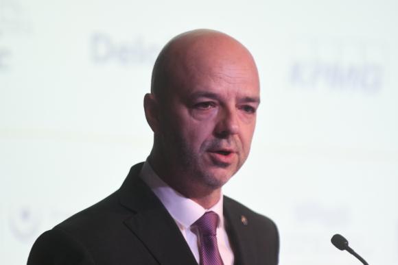Antonio Carámbula, director ejecutivo de Uruguay XXI. Foto: Francisco Flores.