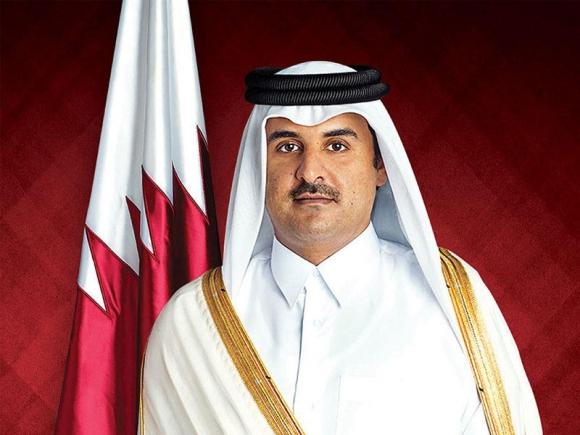 S.A. Emir del Estado de Qatar Jeque Tamim bin Hamad Al Thani