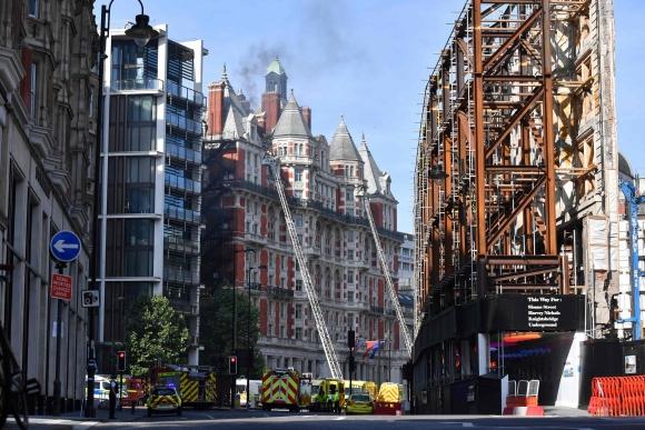 Resultado de imagen para incendio hotel en londres