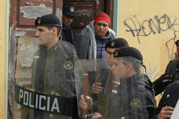 """El """"Buñuelo"""" estará en prisión preventiva por 120 días. De probarse el delito, la pena podrá ser de 20 meses a 10 años de cárcel. Foto: Ricardo Figueredo."""