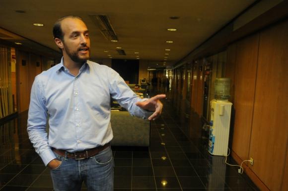 Diputado Fernando Amado. Foto: archivo El País.