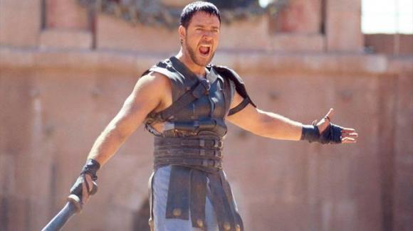 Russell Crowe en Gladiador