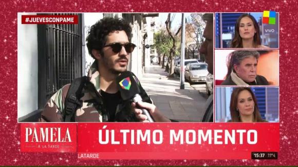 """Chino Darín sobre Ricardo Darín y Valeria Bertuccelli en """"Pamela a la tarde"""""""