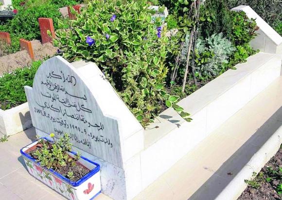 Cementerios musulmanes: los cuerpos se sepultan directamente en la tierra, sobre el lado derecho y con la cara dirigida a La Meca. Foto: Gerardo Pérez.
