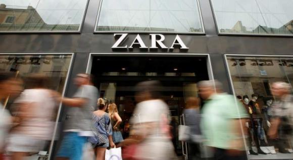 Zara. Fue pionera en el concepto de moda rápida en 1980. Foto: Reuters.