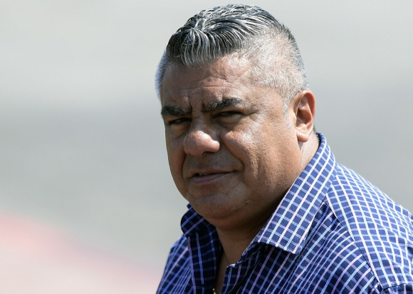 "Claudio ""Chiqui"" Tapia, presidente de la AFA. Foto: AFP"