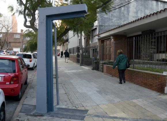 Fútbol y turismo: el Concejo Vecinal N° 5 le pedirá a la Intendencia de Montevideo que el bus turístico pase por este lugar de Pocitos. Foto: Marcelo Bonjour.