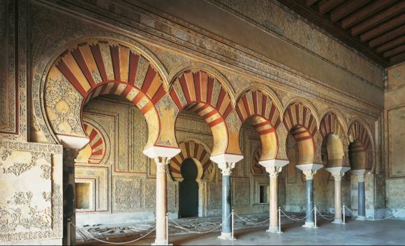Medina Azahara, herencia de la dominación musulmana.