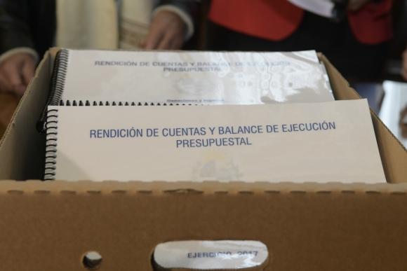 Proyecto de Rendición de Cuentas. Foto: Marcelo Bonjour
