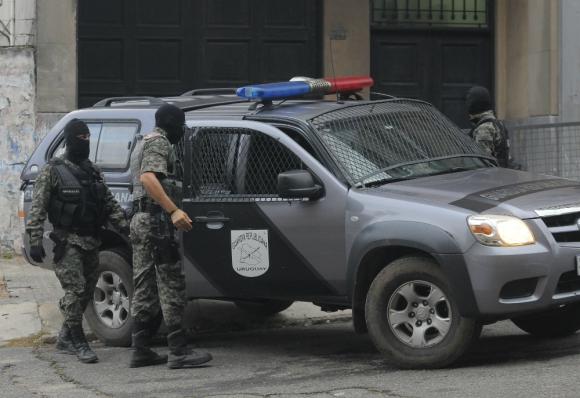 Juzgado: el mexicano Gerardo González Valencia fue encarcelado en una unidad de la Policía. Foto: Ariel  Colmegna.