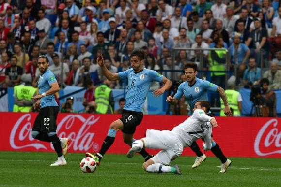 Uruguay - Francia. Foto: Nicolás Pereyra