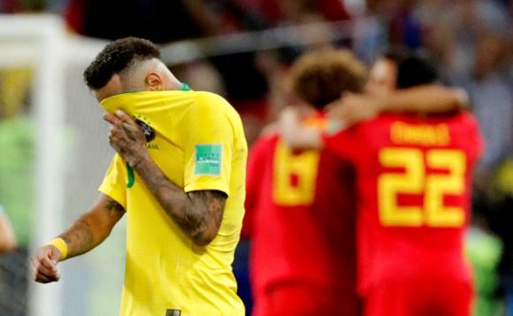 Brasil vs. Bélgica. Foto: Reuters