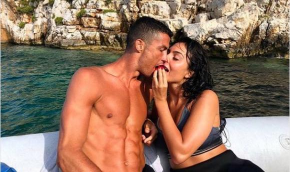 Cristiano Ronaldo y su pareja, Georgina Rodríguez