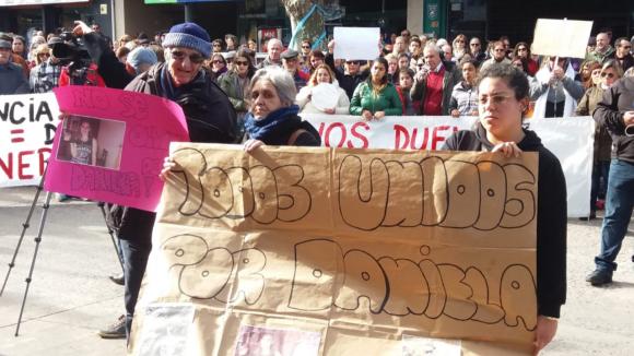 Vecinos reclamaron por la muerte de dos mujeres en Treinta y Tres. Foto: Néstor Araújo