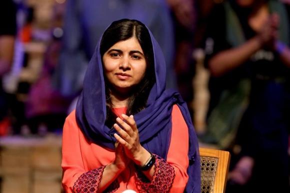 Malala en Brasil. Foto: EFE