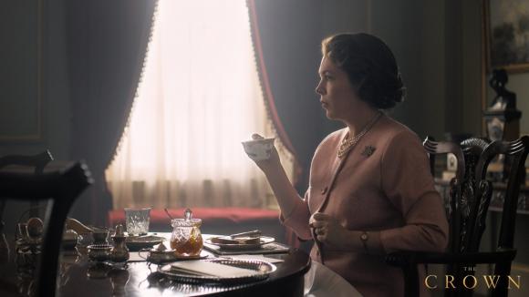 "Olivia Colman en ""The Crown"". Foto: Netflix"