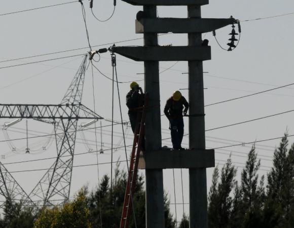 Energía: por cada grado que disminuye en este invierno, el consumo de la energía eléctrica aumenta 5%. Foto: Darwin Borrelli.