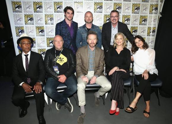 """Reunión de los 10 años de """"Breaking Bad"""" en la Comic-Con de San Diego 2018"""