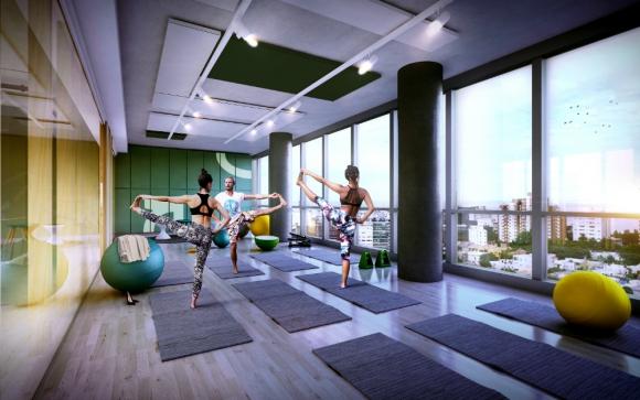 Mir c mo va a ser el nuevo sinergia en punta carretas - Espacio para el yoga ...