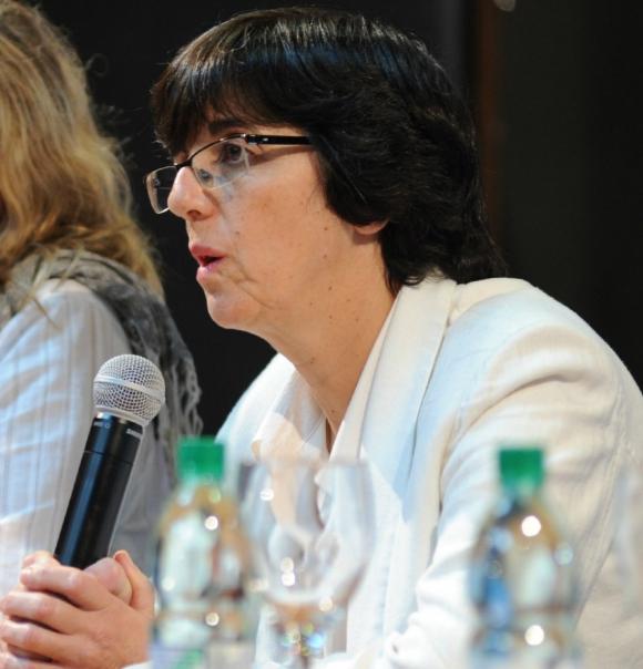 Alicia Ferreira, directora del Fondo Nacional de Recursos Foto: Secretaría de Comunicación - Presidencia de la República