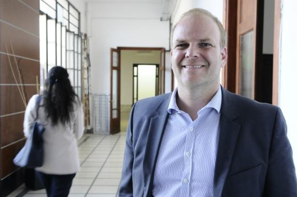 Christian Daude: el jefe de la Asesoría Macroeconómica del MEF señaló que el desafío es reducir déficit fiscal. Foto: Darwin Borrelli.