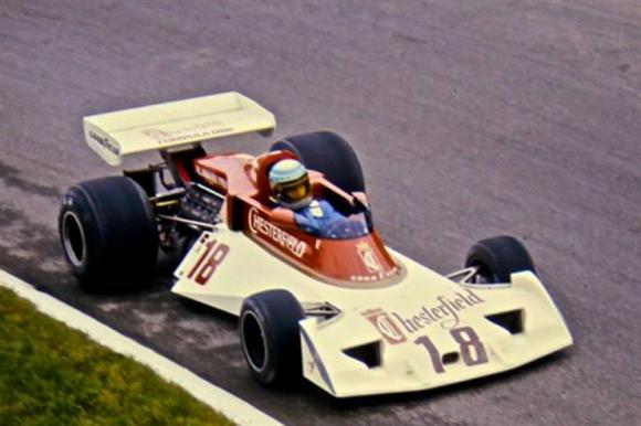 El Surtees de Lunger, en 1976 Crédito: Driving line