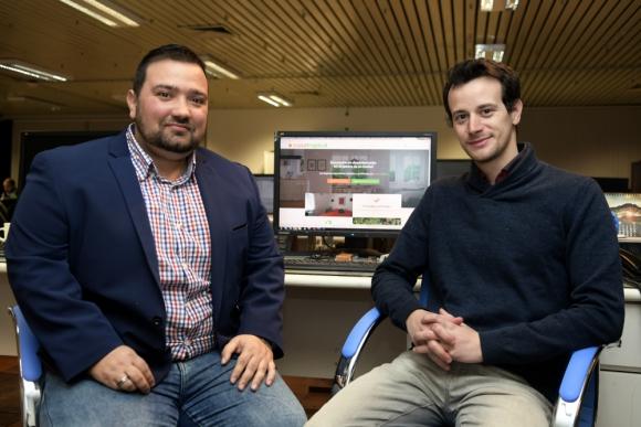 Creadores: Ludovic Ostate y Floris Prieu son dos franceses que llegaron hace 3 meses a Uruguay. Foto: Marcelo Bonjour