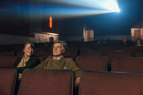 "Robert Redford en ""The Old Man & The Gun"""