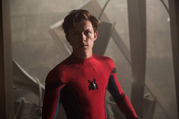 "Tom Holland en ""Spider-Man: de regreso a casa"""