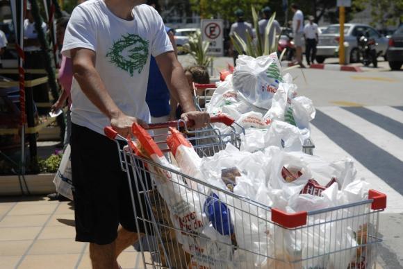9b8650cdf Proyecto de ley para que los supermercados y otros locales, cobren las  bolsas plásticas,