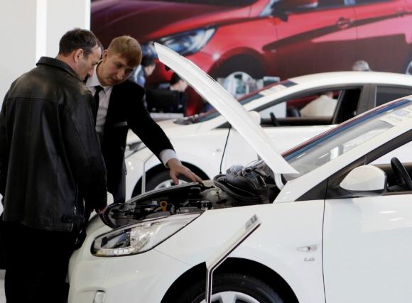 Autos 0 kilómetro se venden menos. Foto: Reuters