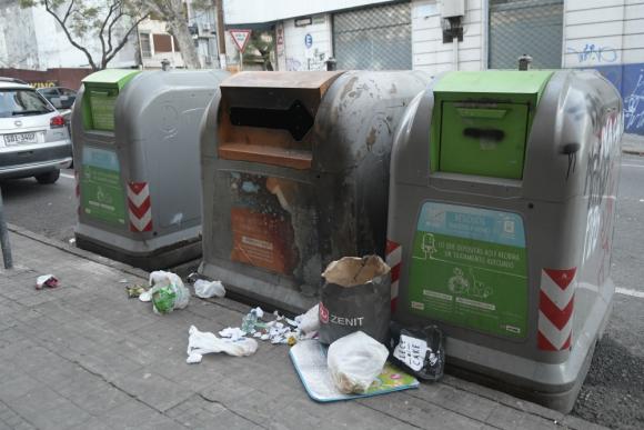 Zona privatizada: la CAP opera desde hace 14 años. Ha sido cuestionada por Adeom y la propia IMM. Foto: Marcelo Bonjour
