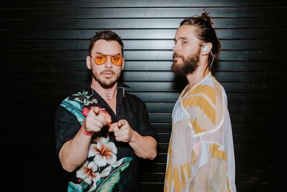 Jared Leto y su hermano Shannon.