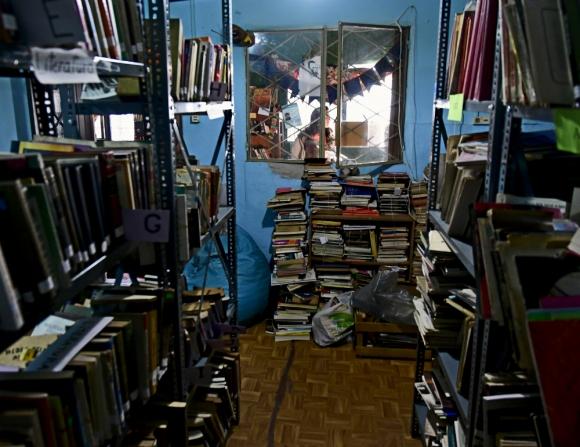 El Centro de Obreros de Alpargatas ofreció su espacio en 2016 para que Bibliobarrio pueda desarrollar sus actividades allí. Foto: F. Ponzetto