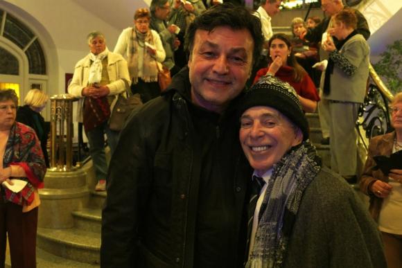 Marcos Carnevale y Carlos Perciavalle. Foto: Ricardo Figueredo
