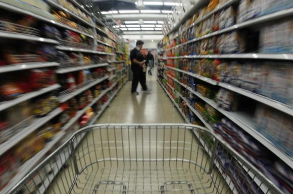 Víctimas: las principales víctimas de los robos eran los supermercados y los artículos eran en general objetos de consumo caros. Foto: Fernando Ponzetto
