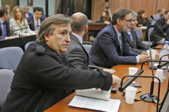 Núñez Carmona, amigo del exvicepresidente Amado Boudou durante el juicio por el caso Ciccone. Foto: La Nación/ GDA