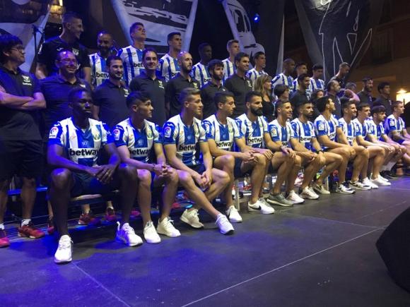 Presentación oficial del nuevo plantel del CD Leganés