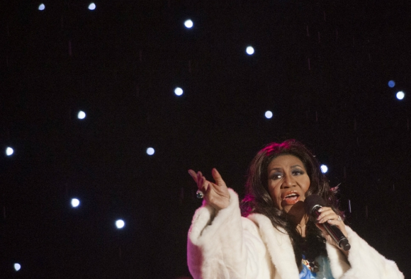 Aretha Franklin. Foto: Archivo