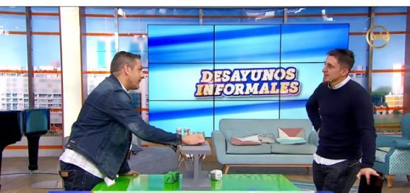 Cristian Rodríguez y Coco Echagüe