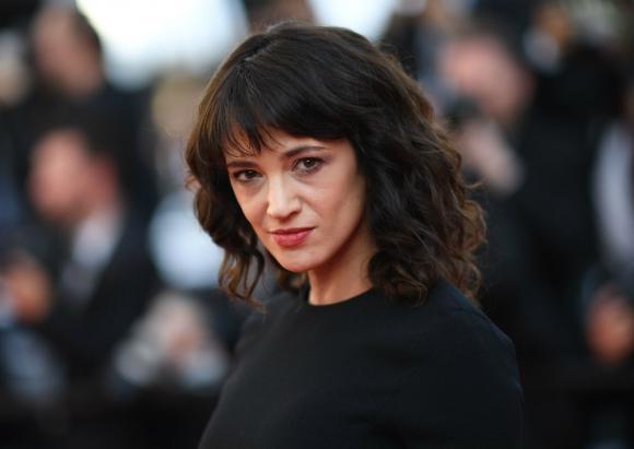 Asia Argento fue denunciada por una agresión sexual a un menor de edad. Foto: AFP.