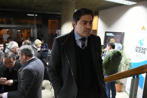 Gastón Tealdi, consejero de Peñarol. Foto: Gerardo Pérez
