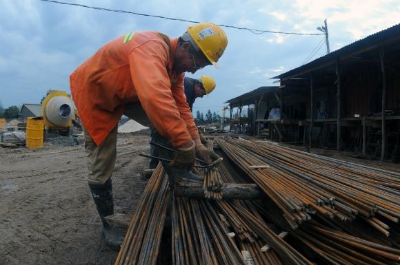 La ronda salarial viene lenta y la negociación en la construcción se trancó. Foto. F. Ponzetto