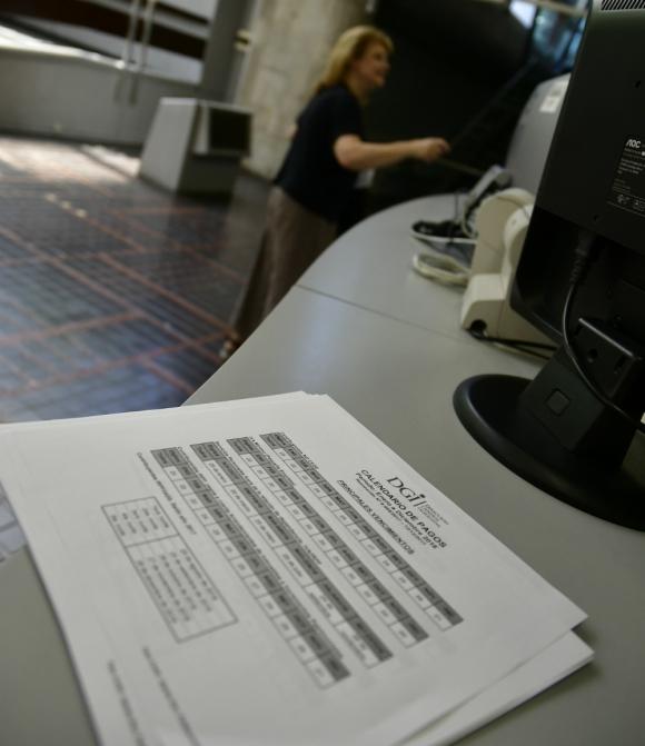 DGI: la devolución de impuestos aumentó más que los ingresos. Foto: Fernando Ponzetto