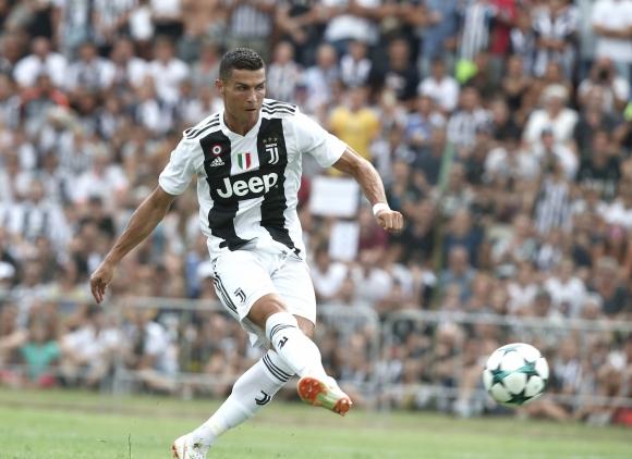 CR7. Su pase del Real Madrid a la Juve fue el más caro de la historia en Italia. Foto: AFP.