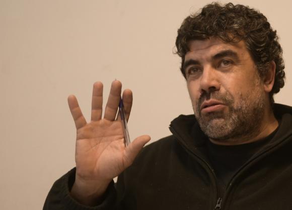 Óscar Andrade. Foto: Marcelo Bonjour