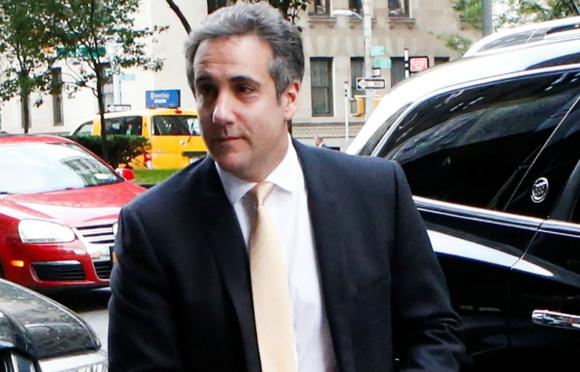 Michael Cohen está en el centro de la controversia sobre pagos de una actriz porno. Foto: Reuters