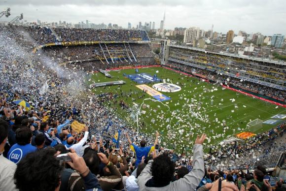 Bombonera. Se hará la final de la copa de eSports en la cancha de Boca. Foto: Archivo El País.