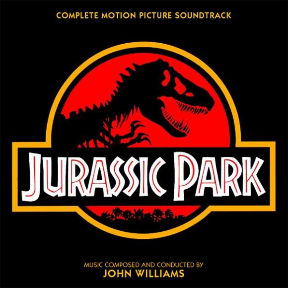 Portada del soundtrack de la película Jurassic Park